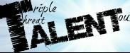 triple threat logo envelope web