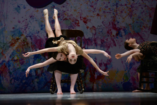 dancers upside down, dance competition, lyrical dance, starquest dance competition