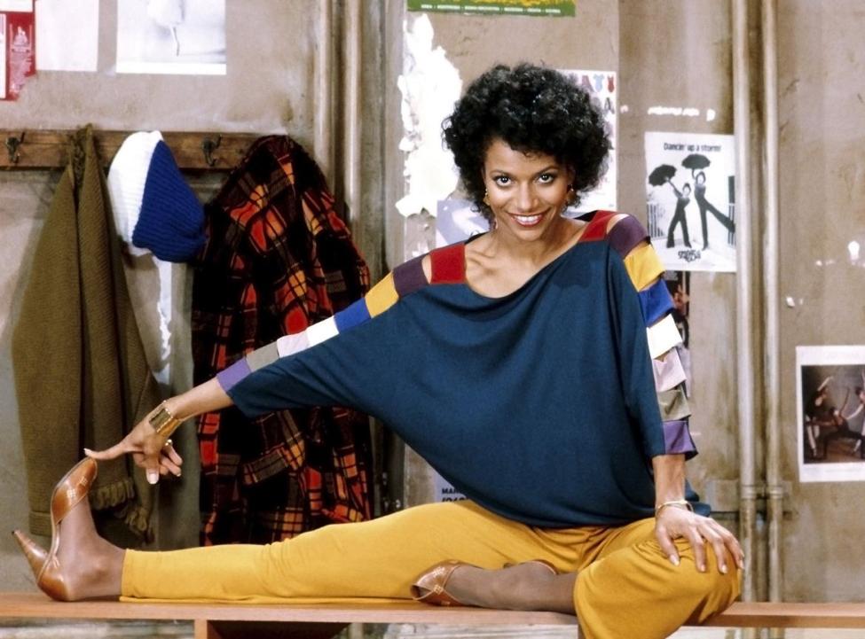Debbie Allen Stretching