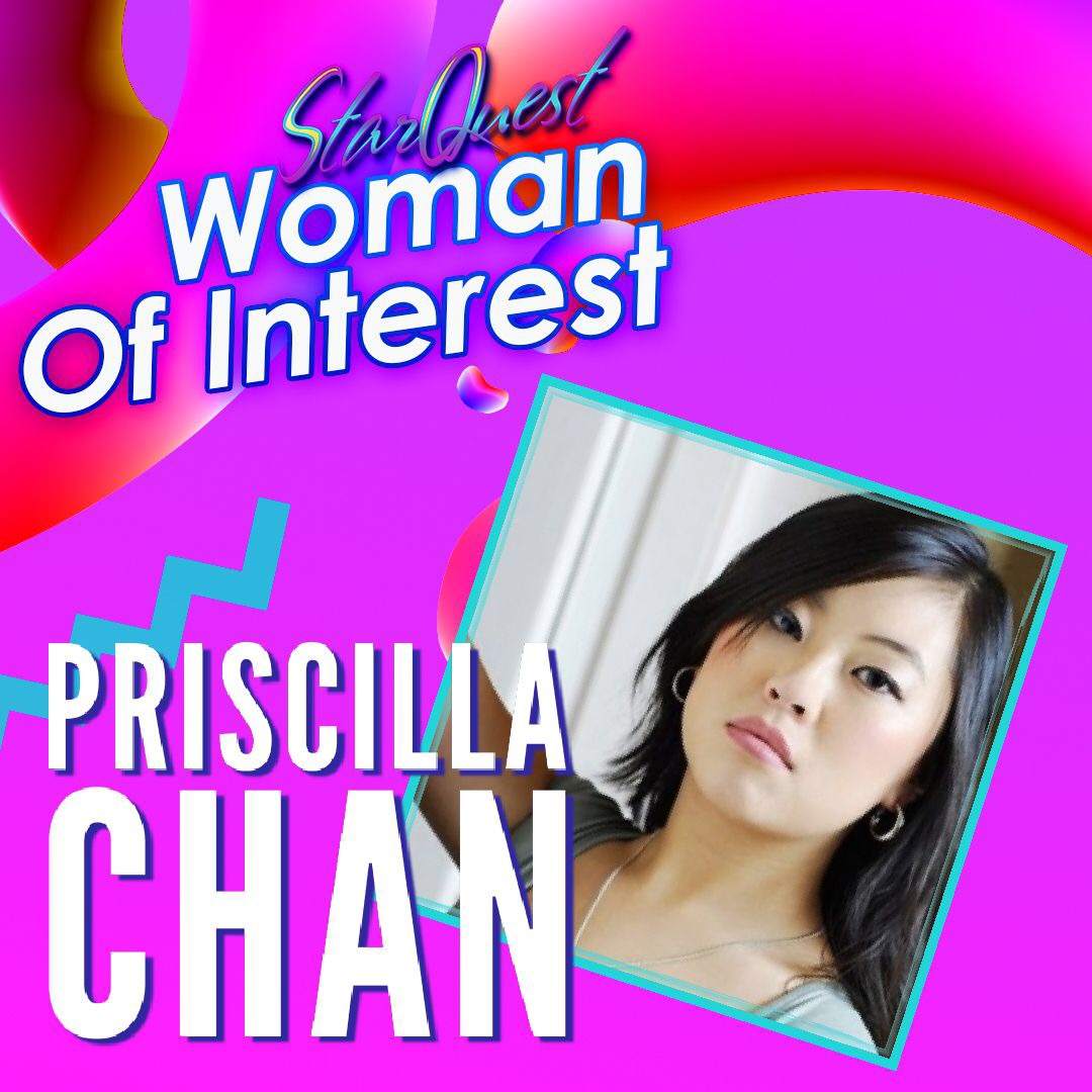 WomanofInterest: Priscilla Chan -